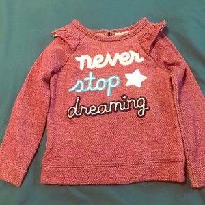 Never Stop Dreaming Children's Sweater